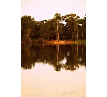 Afternoon Light at Kennington Resevoir by Lorraine McCarthy Photographic Print
