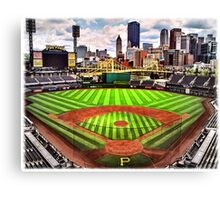 "PNC Park - ""Home of the Pittsburgh Pirates"" Canvas Print"