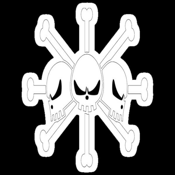 Blackbeard's Jolly Roger by takandre