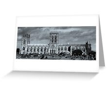 York Minster Greeting Card