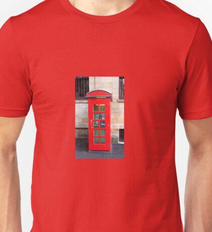 Phone Booth Unisex T-Shirt