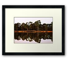 Afternoon Lighting on the Fishing Bridge Framed Print