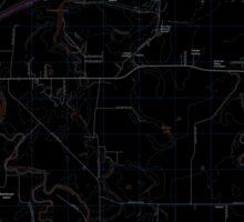 USGS Topo Map Oregon Riverside 20110831 TM Inverted Sticker