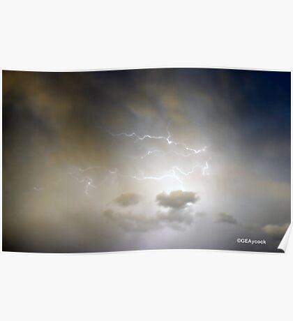 LIGHTENING FLASHES Poster