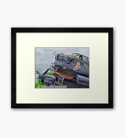 Just Jane ! - HDR Framed Print