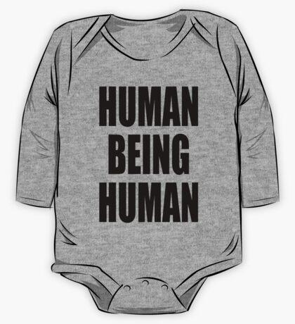 Human Being Human One Piece - Long Sleeve