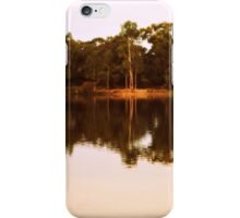 Afternoon Light at Kennington Resevoir by Lorraine McCarthy iPhone Case/Skin