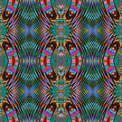 A Mirrored Kaleidoscopeic Cacophony  by Charldia