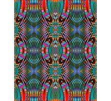 A Mirrored Kaleidoscopeic Cacophony  Photographic Print
