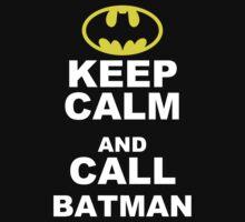 KEEP CALM & CALL BATMAN Funny Mens T Shirt S M L XL XXL XXXL - CARRY ON by jokestore