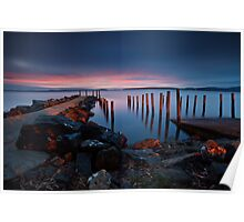 Middleton Boat Ramp Sunrise #2 Poster
