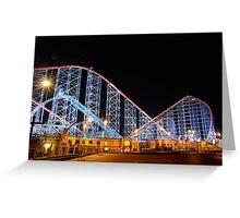Pepsi Max Rollercoaster Greeting Card