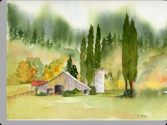 Countryside Beauty - NW Washington by Diane Hall