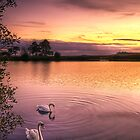 Sunset Ripples by Don Alexander Lumsden (Echo7)