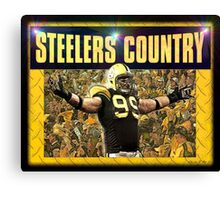 """Steelers Country"" Canvas Print"