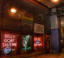 World Famous Billy Goat Tavern, Chicago by Matt Erickson