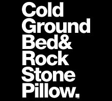Bob Marley Bed Rock & Stone Pillow Threads by juk8ox