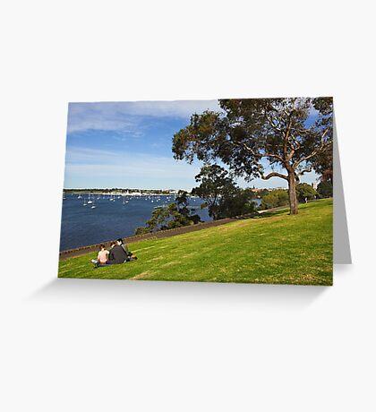 Corio Bay at Geelong Greeting Card