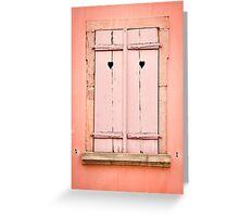 Beautiful Window 6 Greeting Card