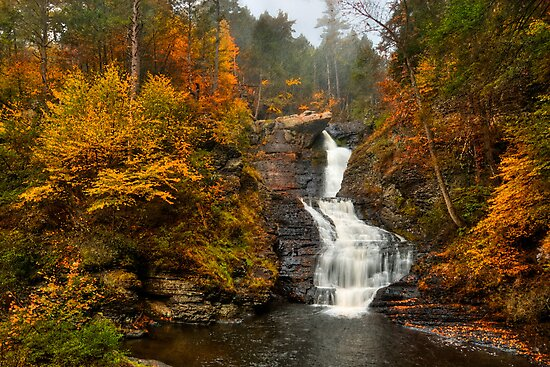 Autumn Morning  by JHRphotoART
