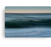 Dialogue with the Sea Canvas Print