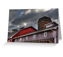 Indiana Barn Greeting Card