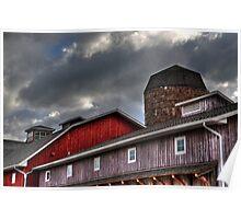 Indiana Barn Poster