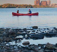 Red Canoe by haominli