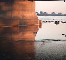 Through the bridge by haominli