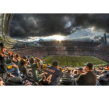 Bears vs. Packers: Rivalry in the Stands Photographic Print