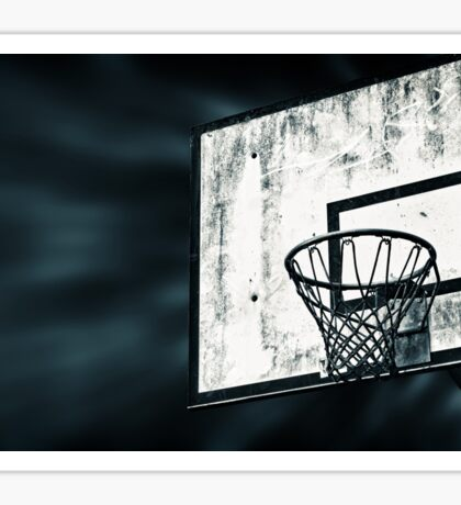 Street Basket Sticker