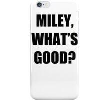 MILEY & NICKI BEEF TSHIRT - FUNNY QUOTE - MINAJ - CYRUS - HIPHOP VMA iPhone Case/Skin