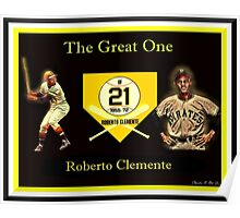 "Roberto Clemente - ""The Great One"" Poster"