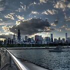 Chicago Skyline HDR by Matt Erickson