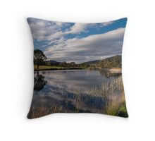 Puddleduck Winery Throw Pillow