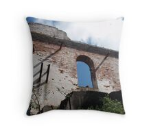 The old mine at Beaconsfield TAS Throw Pillow