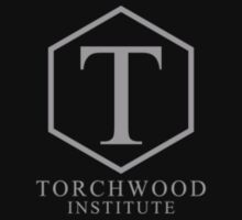 Torchwood Light Gray Classic Logo and Name