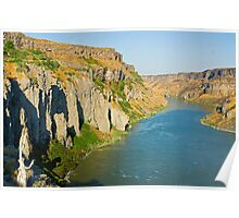 Snake River Canyon Poster