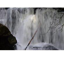 moody whatcom falls, bellingham, washington, usa Photographic Print