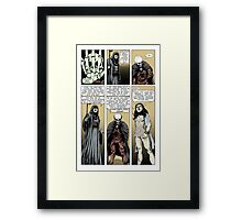 Prelude to battle - the White Queen-Bishop's Tale Part 7 Framed Print