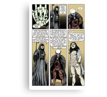 Prelude to battle - the White Queen-Bishop's Tale Part 7 Canvas Print