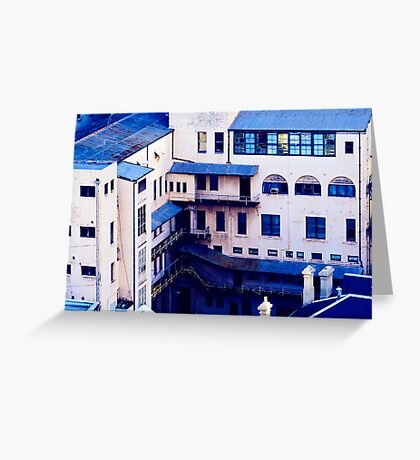 The World Is Blue Greeting Card