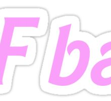 SF bae Sticker