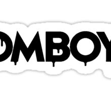 NEW Zomboy logo - Black Sticker