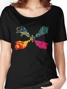 3D geometrics Women's Relaxed Fit T-Shirt