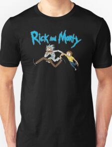 NEW Rick And Morty Adult T Shirt Sociopathic Scientist Adult Swim Funny Cartoon Unisex T-Shirt