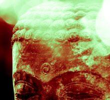 Head of buddha (8076) Sticker