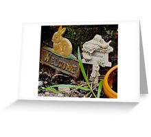 Rabbit Patch Greeting Card