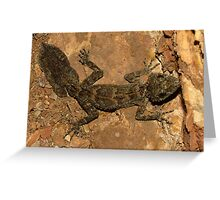 Leaf Tail Gecko Greeting Card