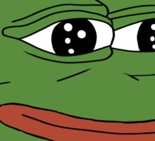 Pepe Sticker-Smug Frog Collection Sticker